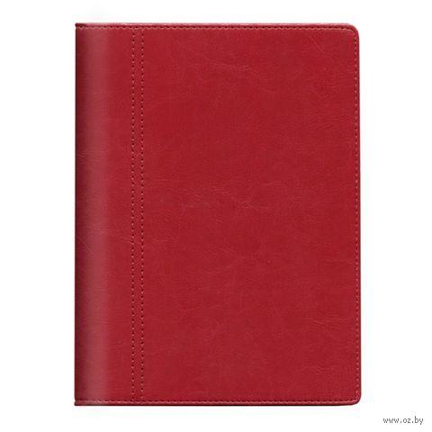 """Профессиональная записная книжка Time-system """"Memory"""" (red)"""