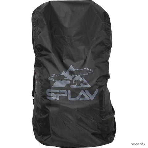 Накидка на рюкзак (15-30 л; черный)