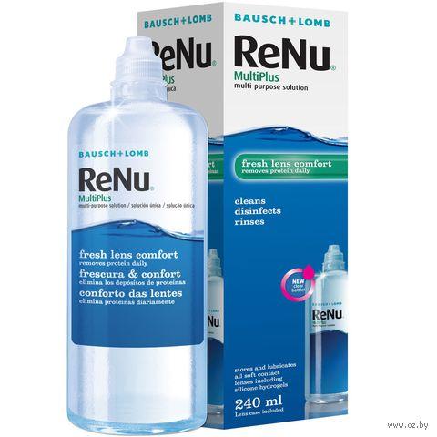 """Раствор для линз """"ReNu Multiplus"""" (240 мл) — фото, картинка"""