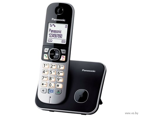 Радиотелефон Panasonic KX-TG6811RUB — фото, картинка