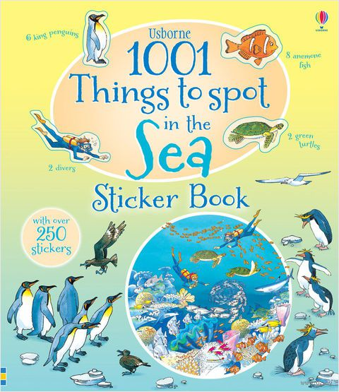 1001 Things to Spot in the Sea. Sticker Book — фото, картинка