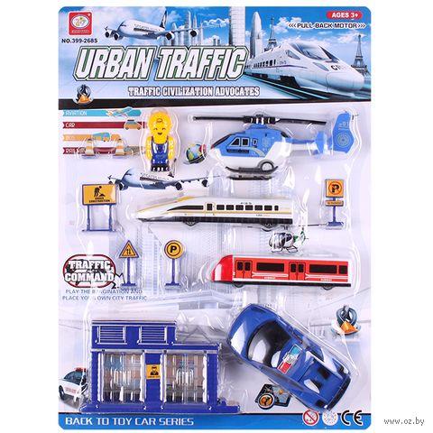 """Игровой набор """"Городской транспорт"""" — фото, картинка"""