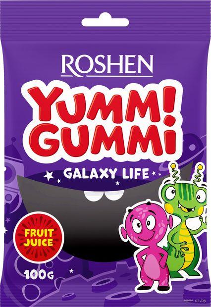 """Конфеты жевательные """"Yummi Gummi. Galaxy Life"""" (100 г) — фото, картинка"""