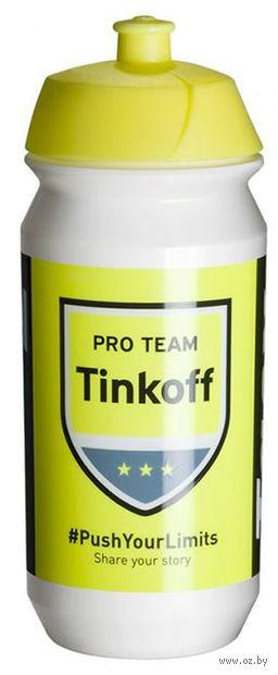 """Бутылка для воды """"Shiva Pro Team Tinkoff 2016"""" (500 мл) — фото, картинка"""