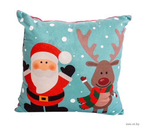 "Подушка ""Christmas"" (35х35 см; арт. 10-630) — фото, картинка"
