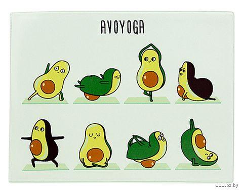 "Обложка на зачётную книжку ""Avoyoga"" — фото, картинка"
