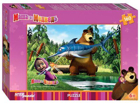 "Пазл ""Маша и Медведь"" (160 элементов) — фото, картинка"