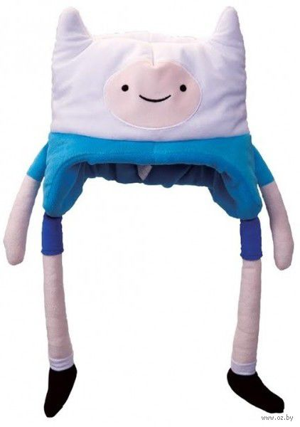 "Плюшевая шапка ""Adventure Time. Finn"" — фото, картинка"