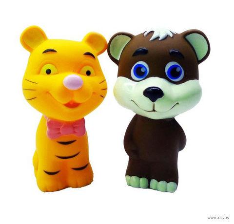 """Набор игрушек для купания """"Медвежонок и тигренок"""""""