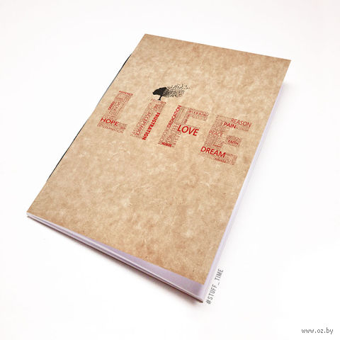 """Блокнот крафт """"Life"""" А6 (397)"""