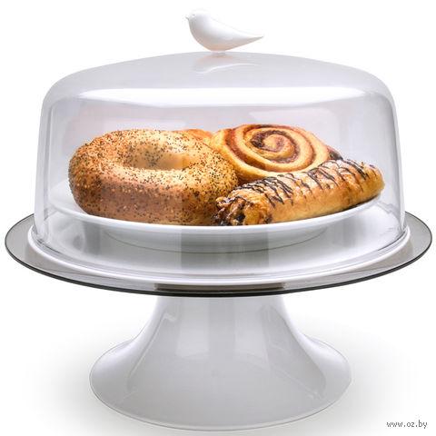 """Подставка для торта """"Sparrow"""" (белая)"""