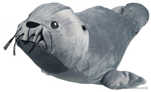 """Игрушка для собак с пищалкой """"Тюлень"""" (30 см) — фото, картинка"""