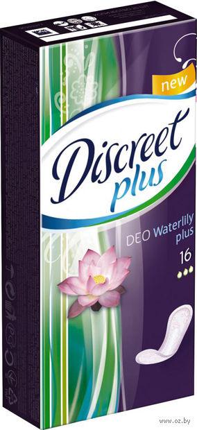 """Ежедневные прокладки Discreet Deo """"Водная Лилия"""" Plus Single (16 шт)"""