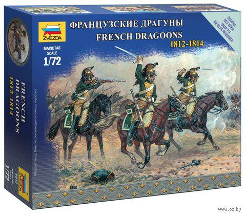 "Набор миниатюр ""Французские драгуны 1812-1814 гг."" (масштаб: 1/72) — фото, картинка"