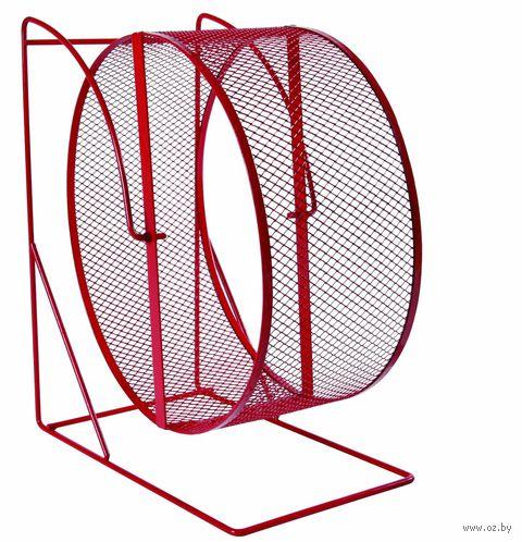 """Колесо для грызунов полузакрытое на подставке """"TRIXIE"""" (диаметр 17 см, арт. 61001)"""