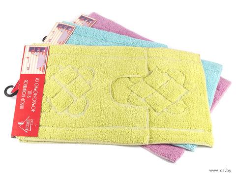 Набор ковриков текстильных (2 шт.; арт. S-0048)
