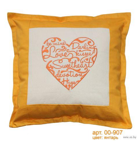 "Подушка ""Sweetheart"" (48x48 см; арт. 00-907) — фото, картинка"