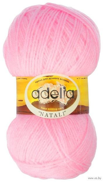 "Пряжа ""Adelia. Natali №4 (50 г; 300 м; розовый) — фото, картинка"