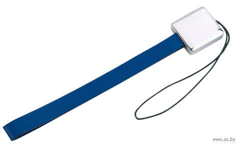 Подвеска для мобильного телефона (квадрат, синяя)