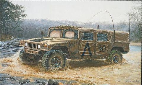 "Армейский вездеход ""M998 Command Vehicle"" (масштаб: 1/35) — фото, картинка"