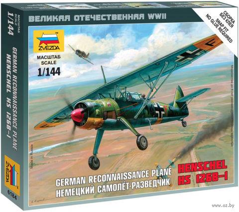"""Сборная модель """"Немецкий самолет-разведчик """"Henschel"""" 126B-I"""" (масштаб: 1/144) — фото, картинка"""