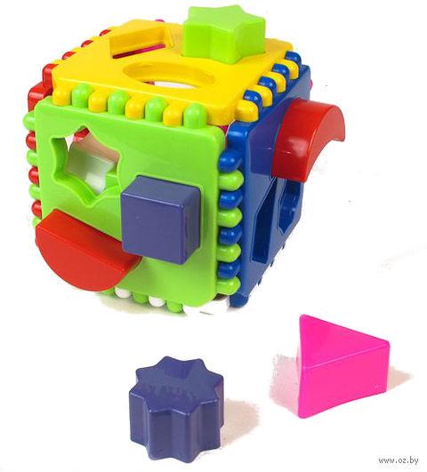 """Развивающая игрушка """"Логический куб"""" (арт. 01316)"""