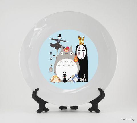 "Тарелка ""Studio Ghibli"" (937)"