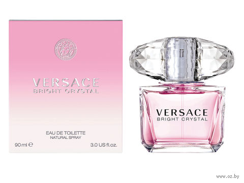 "Туалетная вода для женщин Versace ""Bright Crystal"" (90 мл) — фото, картинка"
