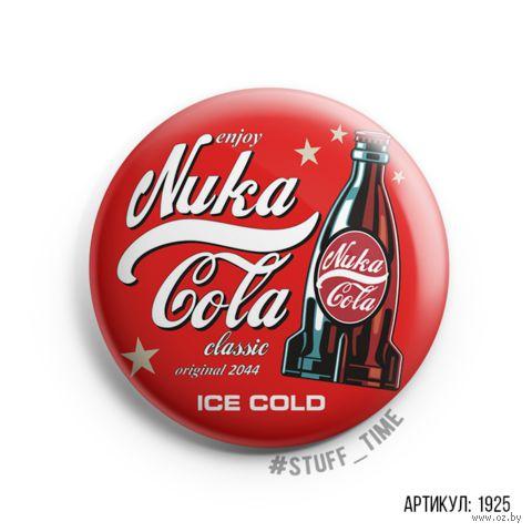 """Значок """"Nuka Cola"""" (арт. 1925) — фото, картинка"""