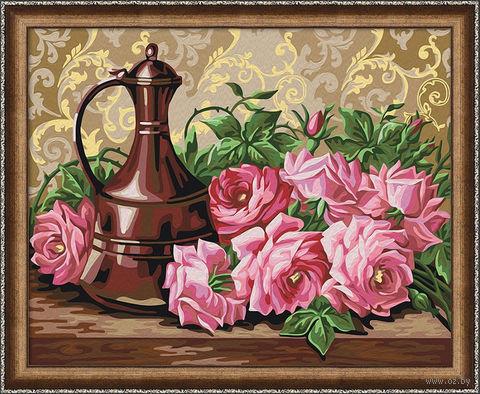 """Картина по номерам """"Бронзовый кувшин"""" (400х500 мм) — фото, картинка"""