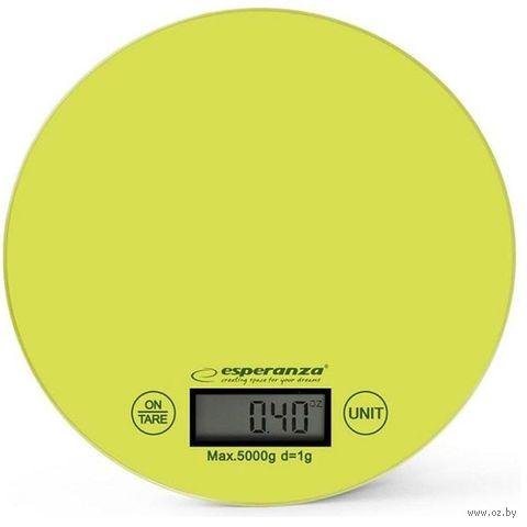 Кухонные весы Esperanza Mango EKS003 (зеленые) — фото, картинка