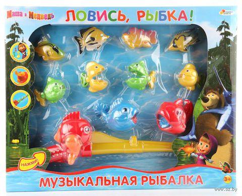"""Игровой набор """"Маша и Медведь. Ловись, рыбка!"""" (со звуковыми эффектами)"""