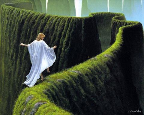 """Алмазная вышивка-мозаика """"Зеленый лабиринт"""""""