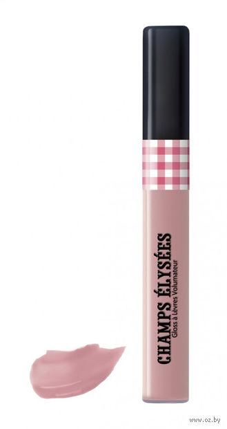 """Блеск для губ """"Champs Elysees. С эффектом объема"""" (тон: 106, натуральный розовый)"""