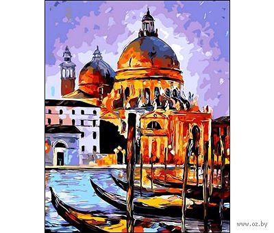 "Картина по номерам ""Венецианские гондолы"" (400x500 мм) — фото, картинка"