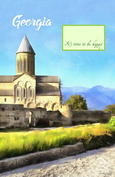 """Блокнот """"Грузия. Монастырь"""" (А5) — фото, картинка"""
