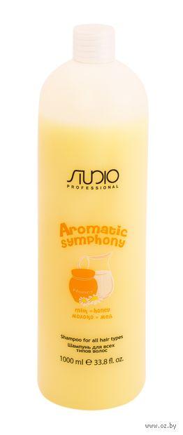 """Шампунь для волос """"Молоко и мёд"""" (1 л) — фото, картинка"""