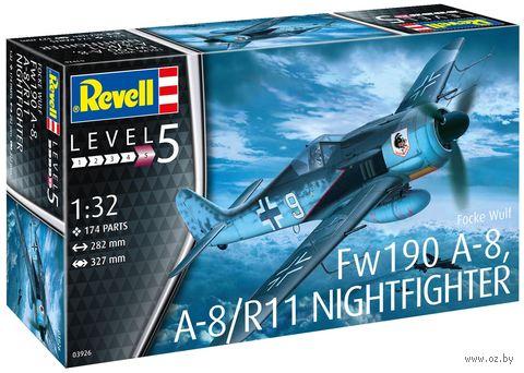 "Сборная модель ""Fw190 A-8, A-8/R11 Night fighter"" (масштаб: 1/32) — фото, картинка"