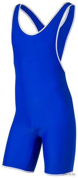 Трико борцовское 9917 (р. 36; синее) — фото, картинка