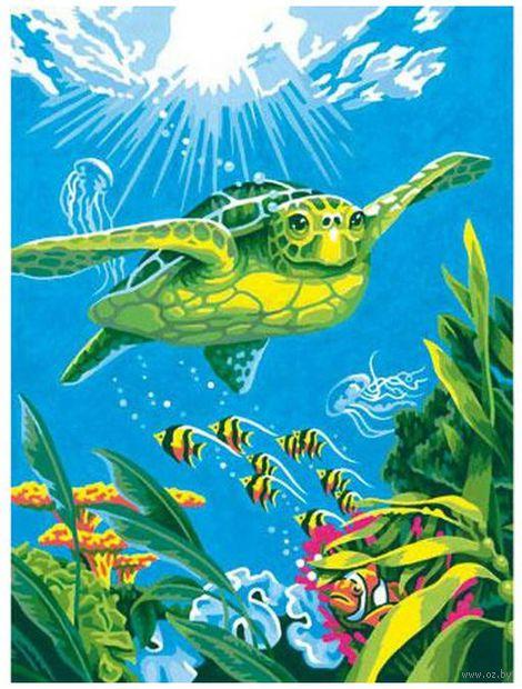 """Картина по номерам """"Морская черепаха"""" (305х230 мм; арт. DMS-73-91471)"""