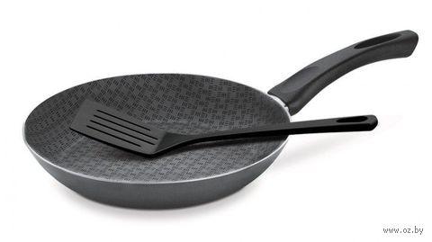Сковорода алюминиевая антипригарная (2 предмета; 20 см)