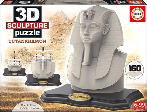 """3D пазл """"Тутанхамон"""" (160 элементов) — фото, картинка"""