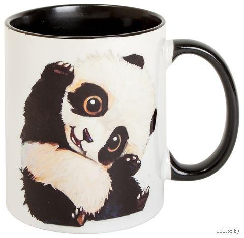 """Кружка """"Панда"""" (арт. 509, черная)"""