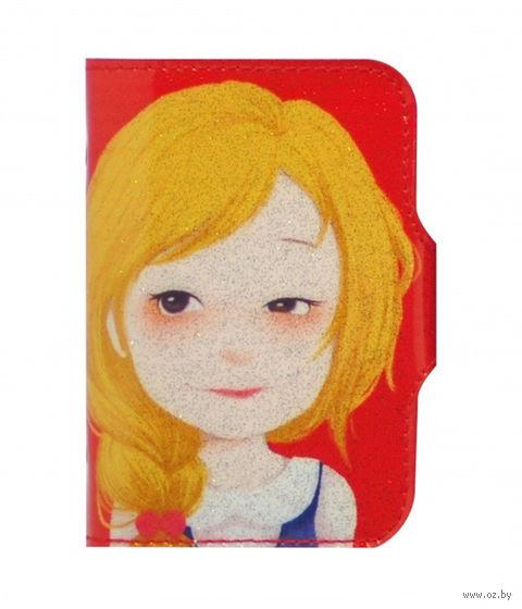 "Кредитница ""Hyson. Redhead Beauty"" (20 карточек) — фото, картинка"