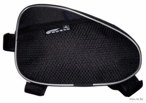 Сумка велосипедная под раму (чёрная) — фото, картинка