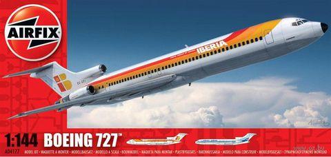 "Пассажирский самолет ""Boeing 727"" (масштаб: 1/144) — фото, картинка"
