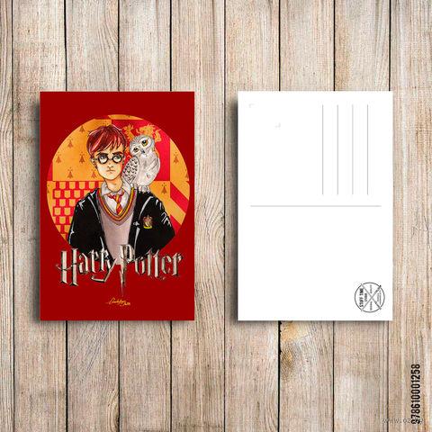 "Открытка ""Гарри Поттер"" (арт. 258) — фото, картинка"