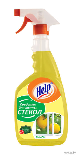 """Средство для чистки и мытья стекол """"Лимон"""" (750 мл) — фото, картинка"""