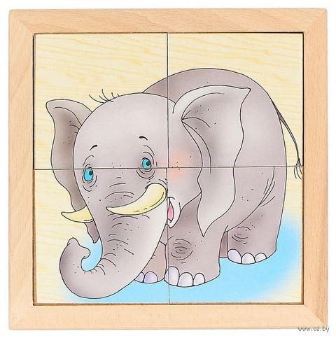 """Рамка-вкладыш """"Африканские животные"""" — фото, картинка"""