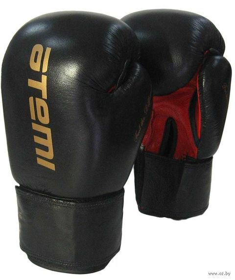 Перчатки боксёрские LTB19026 (12 унций; чёрно-красные) — фото, картинка